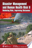 Disaster Management and Human Health Risk II Book