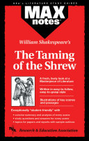 Taming of the Shrew, The (MAXNotes Literature Guides)