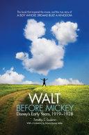 Walt before Mickey Pdf/ePub eBook