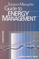 Solutions Manual for Guide to Energy Management
