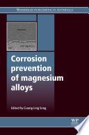 Corrosion Prevention Of Magnesium Alloys Book PDF