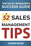 52 Sales Management Tips  The Sales Managers  Success Guide