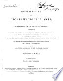 A General History of the Dichlamydeous Plants Book