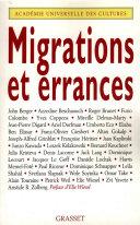 Pdf Migrations et errances Telecharger