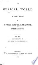 The Musical World Book