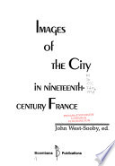 Images of the City in Nineteenth-century France
