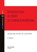Pdf Introduction au droit de l'union européenne 2010/2011 Telecharger