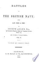 Battles of the British Navy