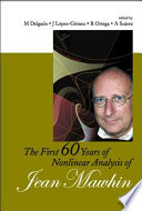 The First 60 Years of Nonlinear Analysis of Jean Mawhin