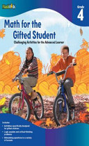 Math for the Gifted Student  Grade 4  Challenging Activities for the Advanced Learner
