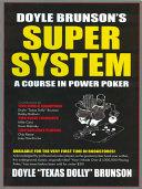 Doyle Brunson's Super System Pdf/ePub eBook