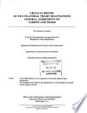 Uruguay Round of Multilateral Trade Negotiations
