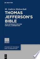 Thomas Jefferson   s Bible