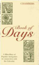 Chambers Book Of Days