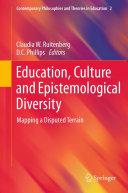Education, Culture and Epistemological Diversity Pdf/ePub eBook