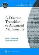 A Discrete Transition to Advanced Mathematics