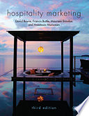 """Hospitality Marketing"" by David Bowie, Francis Buttle, Maureen Brookes, Anastasia Mariussen"
