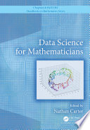 Data Science For Mathematicians