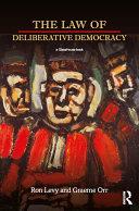 The Law of Deliberative Democracy Pdf/ePub eBook