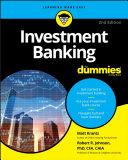 Investment Banking For Dummies Pdf/ePub eBook