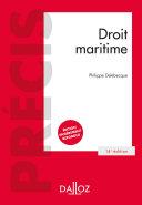Pdf Droit maritime - 14e ed. Telecharger