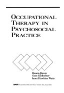Occupational Therapy in Psychosocial Practice Book