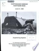 Earthquake Damage, Northern Iran, June 21, 1990