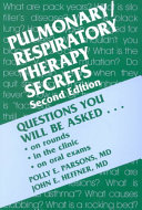 Registered Respiratory Therapist 40 Success Secrets 40 Most Asked Questions On Registered Respiratory Therapist What You Need To Know [Pdf/ePub] eBook