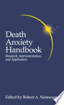 Death Anxiety Handbook  Research  Instrumentation  And Application Book
