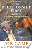 Why Relationship First Works - - an EBook Nugget from the Soul of a Horse