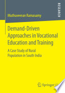 Demand Driven Approaches in Vocational Education and Training Book