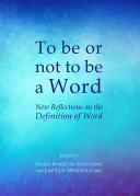 To be or not to be a Word