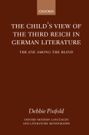 The Child's View of the Third Reich in German Literature