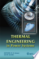 Thermal Engineering In Power Systems Book PDF