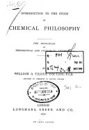 Introduction to the Study of Chemical Phylosophy