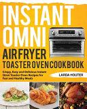 Instant Omni Air Fryer Toaster Oven Cookbook PDF