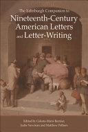 Pdf Edinburgh Companion to Nineteenth-Century American Letters and Letter-Writing Telecharger