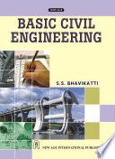 Basic Civil Engineering, New Age, 2010