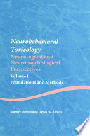 Neurobehavioral Toxicology Neurological And Neuropsychological Perspectives Volume I