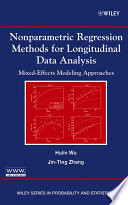 Nonparametric Regression Methods For Longitudinal Data Analysis