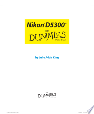 Download Nikon D5300 For Dummies Free Books - Dlebooks.net