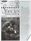Endangered Species Bulletin Book