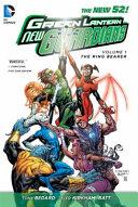 Green Lantern  New Guardians Book