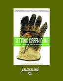 Pdf Getting Green Done