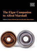 The Elgar Companion To Alfred Marshall