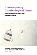 Pdf Contemporary Criminological Issues Telecharger