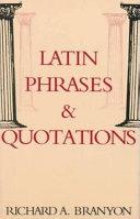 Pdf Latin Phrases & Quotations