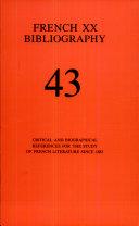 French Twentieth Bibliography Pdf/ePub eBook