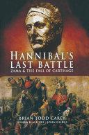 Pdf Hannibal's Last Battle