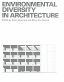 Environmental Diversity in Architecture Book